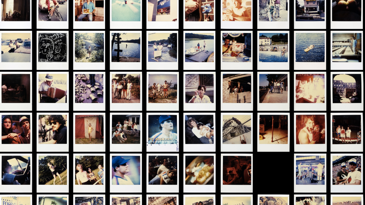 Jamie Livingston took one Polaroid every day for 18 years until he died on his 41st birthday. We made a book of them for his 61st. This project has been successfully funded and books are available at Amazon or by clicking this button