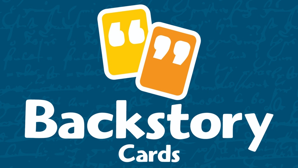 Backstory Cards, Volume 2 project video thumbnail
