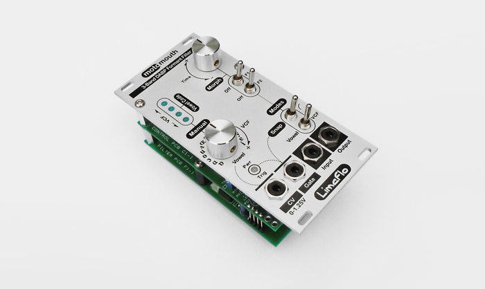 Motomouth 12HP Eurorack Compatible, Single Coded Control-Voltage Input, 16 Vowel, Sedra+Espinoza (DABP) Analog Morphing Formant Filter