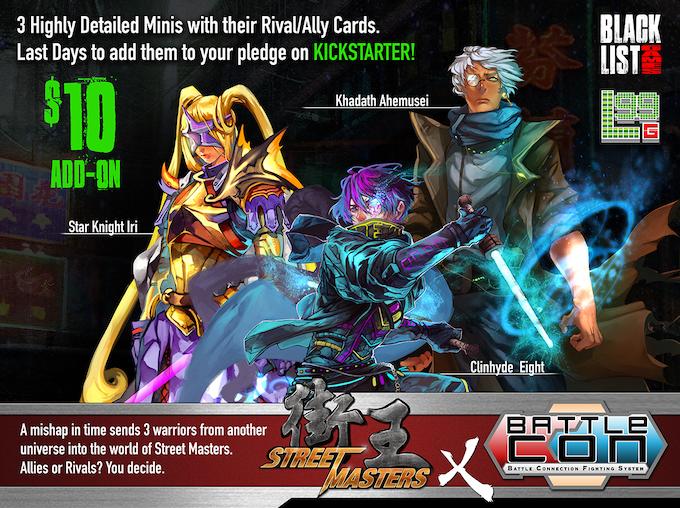 Street Masters X BattleCon Crossover Add-on