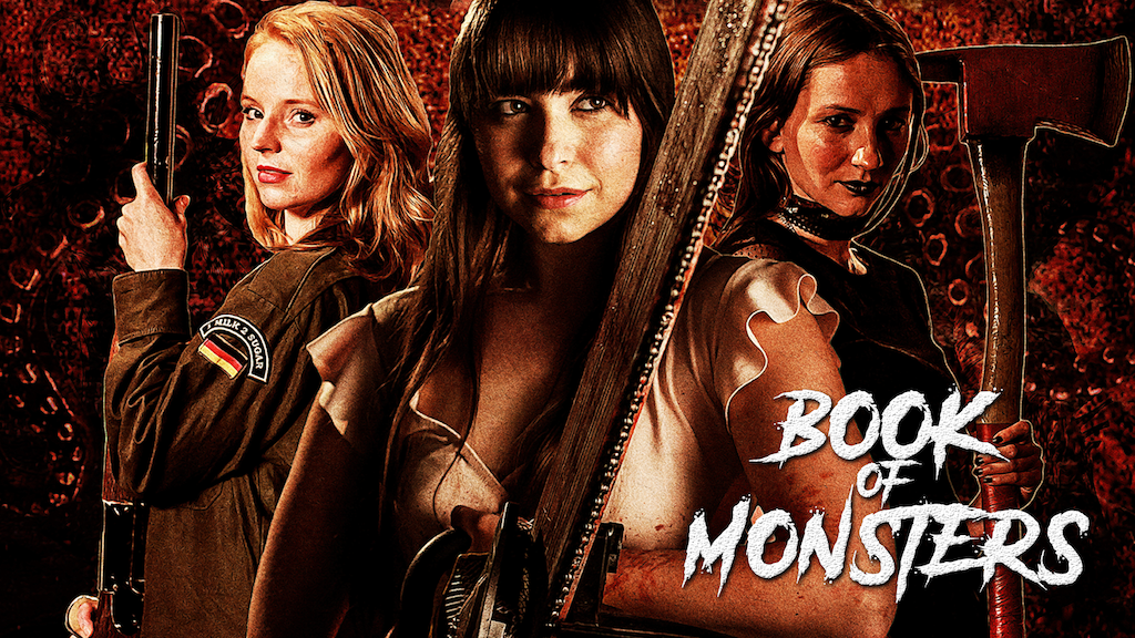 BOOK OF MONSTERS : An Action Horror Feature Film project video thumbnail