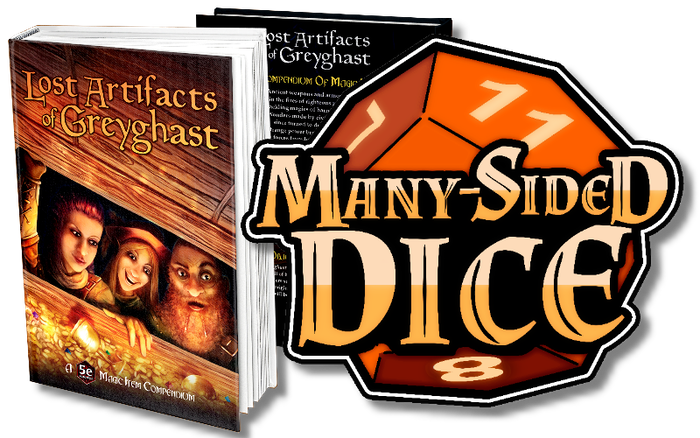Hundreds of richly detailed magic items and artifacts for virtually any 5th edition D&D campaign--stories, origins, mechanics, and fun.