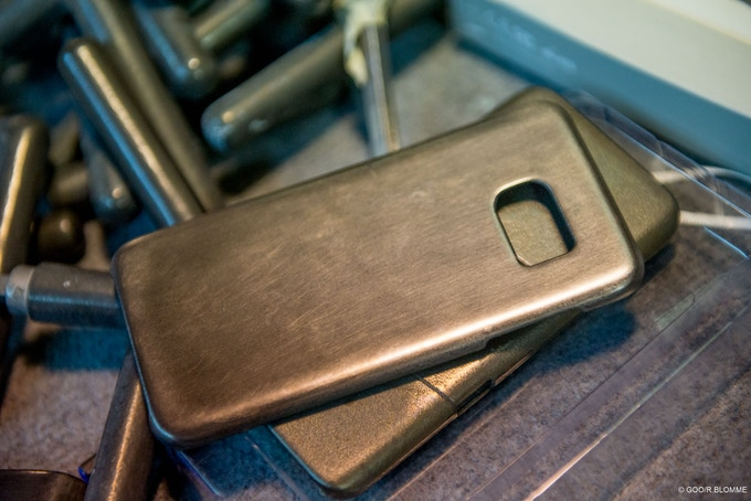 Prototype de coque GOO phone case