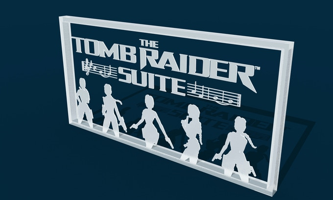 The Tomb Raider Suite 3D Acrylic Logo. You can add the TRS 3D Acrylic Logo to any tier by increasing your pledge by £50. After doing so, message us with your request and we will mark it on your account.
