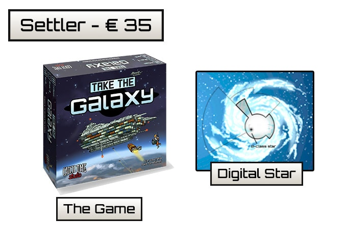 You will receive one copy of the game, good for 1 or 4 players, a digital star and all unlocked stretch goals!