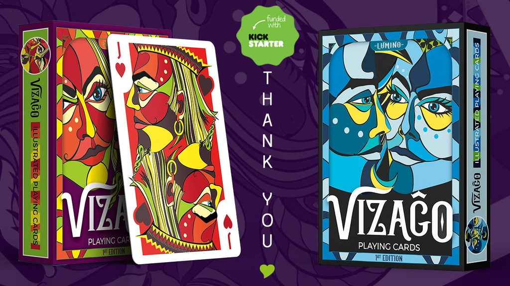 VIZAĜO Playing Cards ♥ Relaunch project video thumbnail