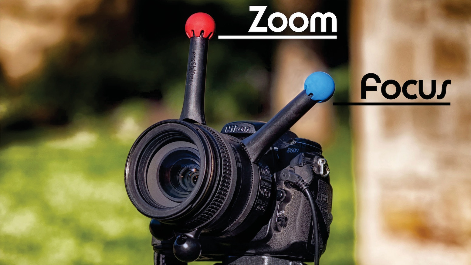 Get precise focus & zoom control with LensShifter's camera lens grip! Perfect for photography and video. New colors match your gear.