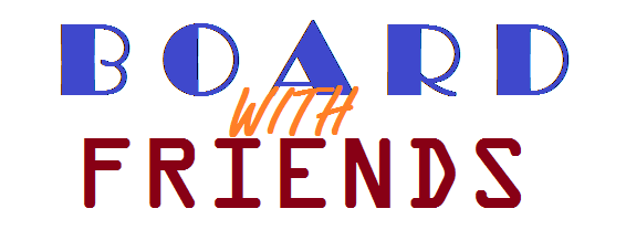 Click on this image to listen to the podcast we recorded with Board with Friends!