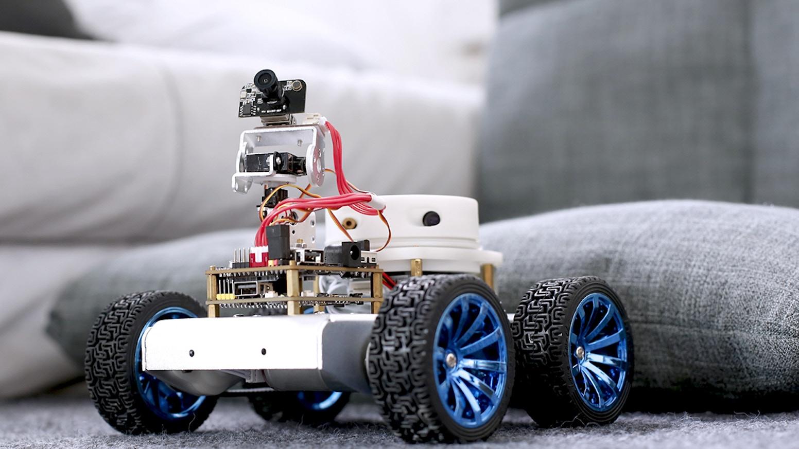 Crazypi The True Robot Kit For Diy Robot Lovers By Crazypi