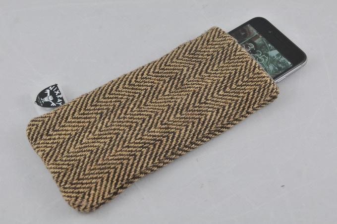 All fabric styles come in a strapless Phone Sleeve version, too
