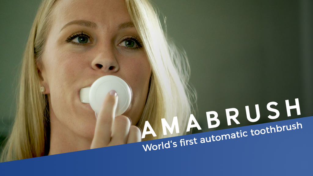 Amabrush - World's First Automatic Toothbrush project video thumbnail
