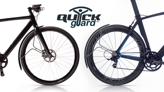Quickguard >> full length bicycle mudguard