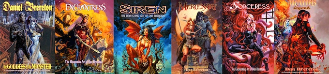 Previous Dan Brereton Art Books