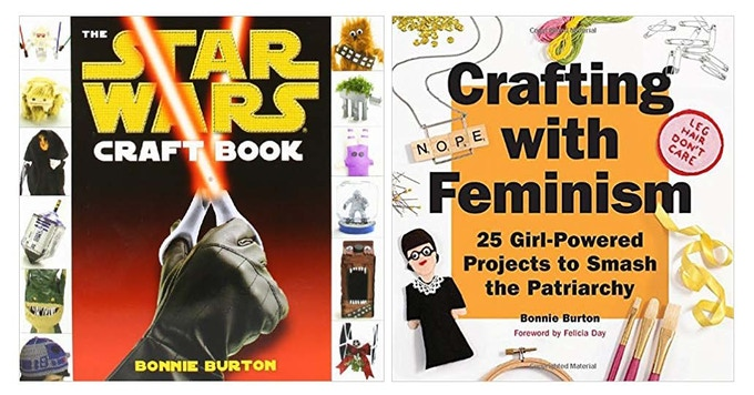 Craft it, Chewie! Autographed craft books from Bonnie Burton!