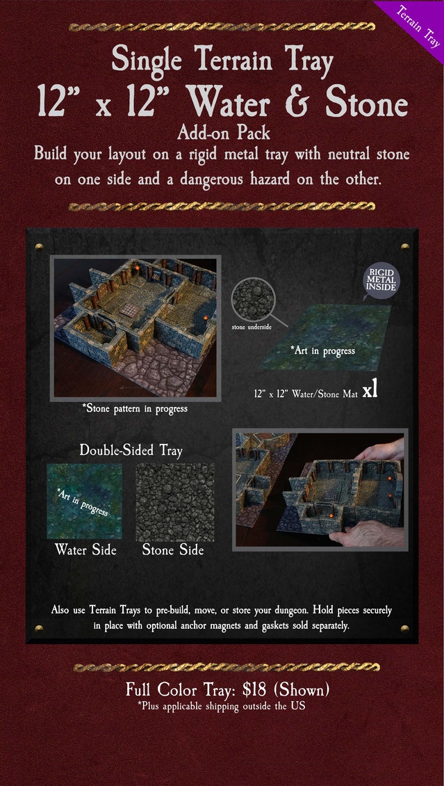 Dungeon of Doom: Handcrafted Game Terrain by Dwarven Forge