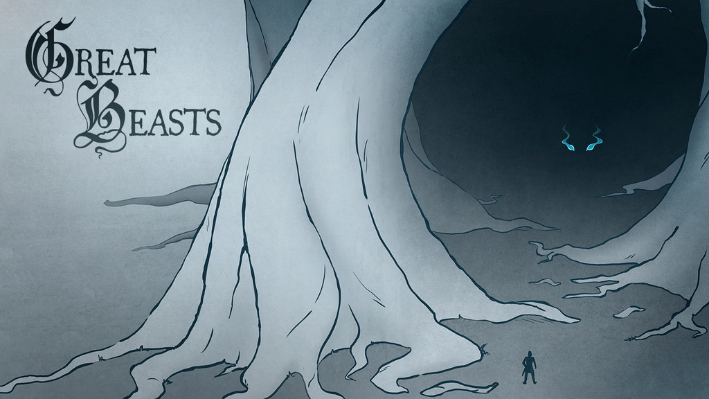 Great Beasts Mini Comic project video thumbnail