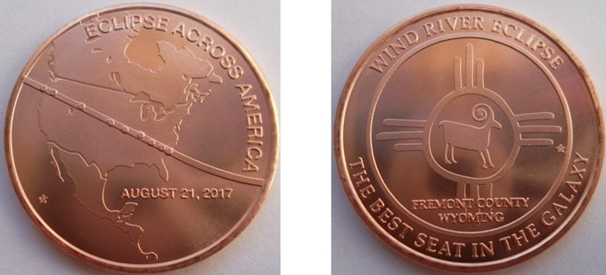 The two obverse designs