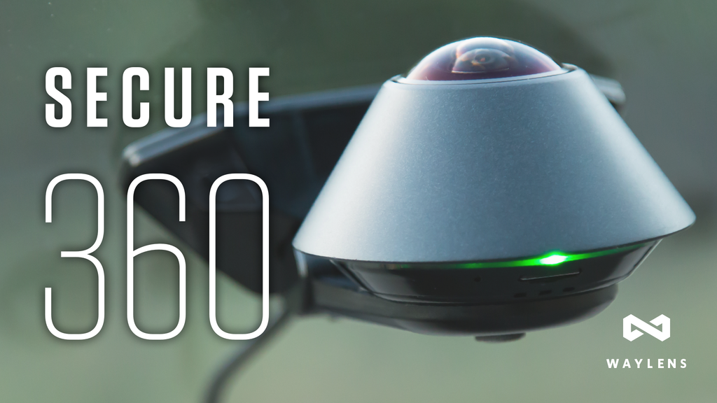 Waylens Secure360 with 4G - Automotive Security Camera project video thumbnail