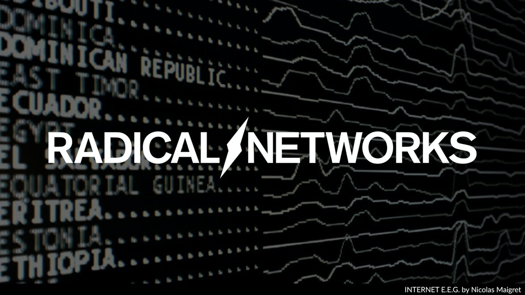 Radical Networks project video thumbnail