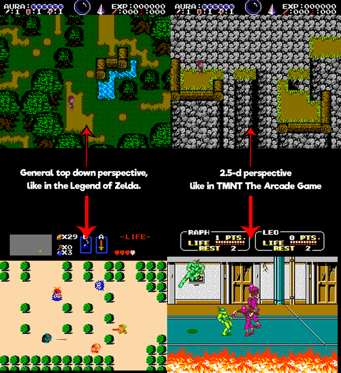Project Updates for The New 8-bit Heroes: New NES game and