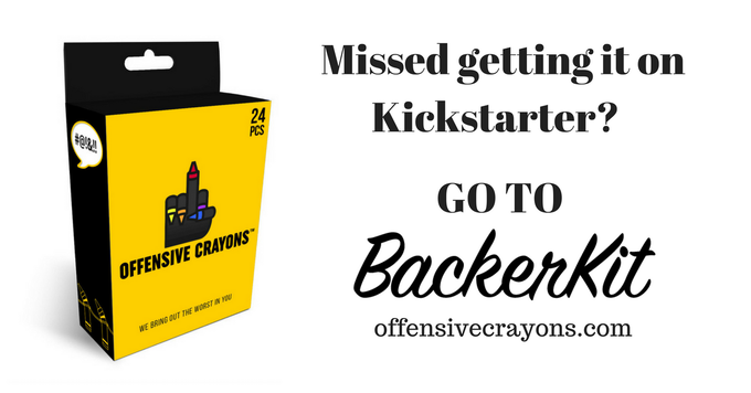Offensive Crayons By Offensive Crayons Kickstarter