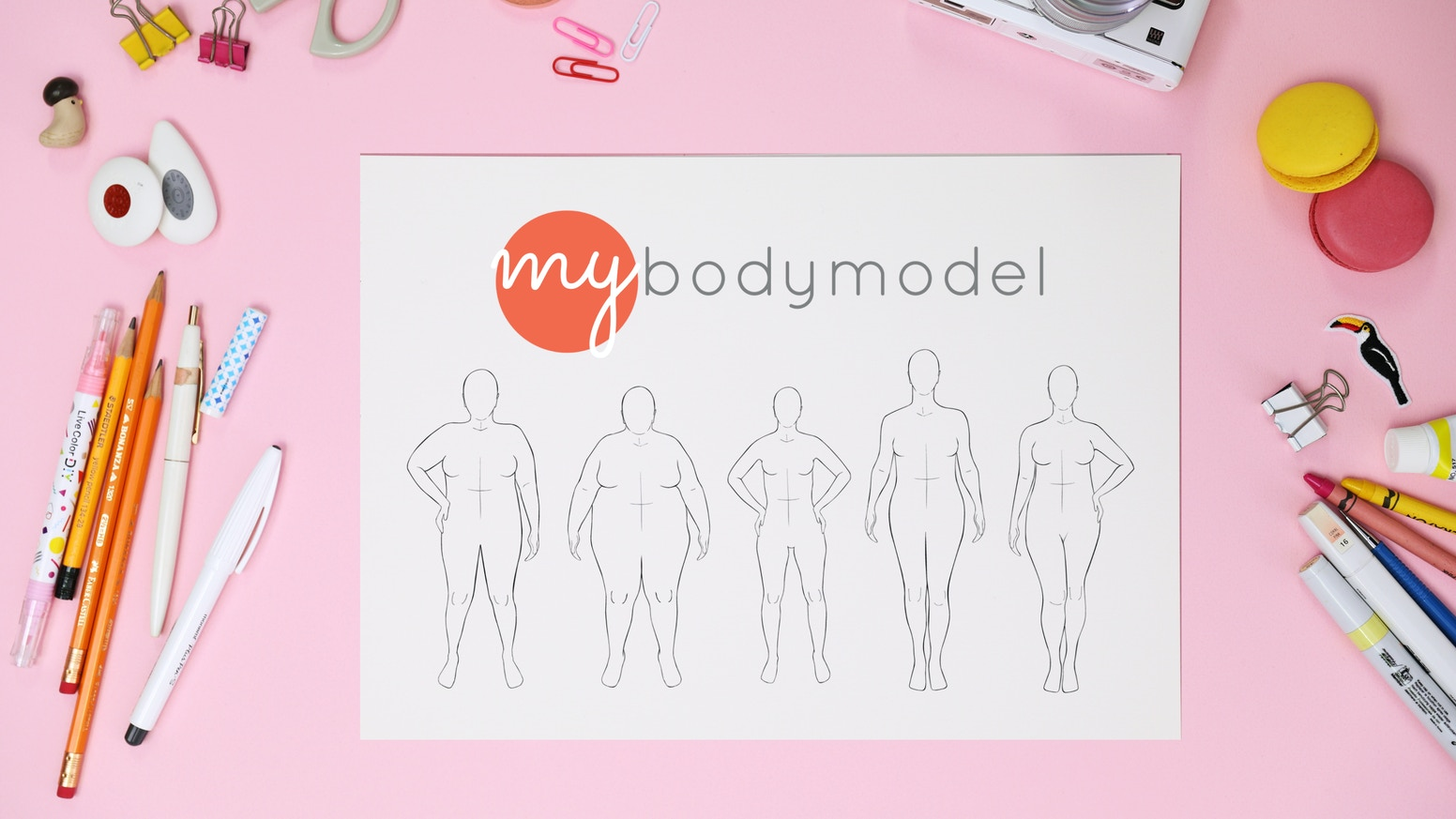 Mybodymodel Fashion Sketch Templates To Your Measurements By Erica