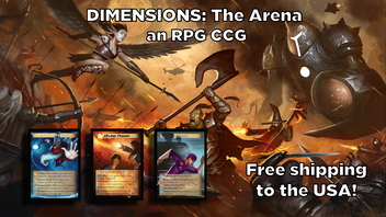 Dimensions: The Arena - An RPG-based Single Card CCG/TCG