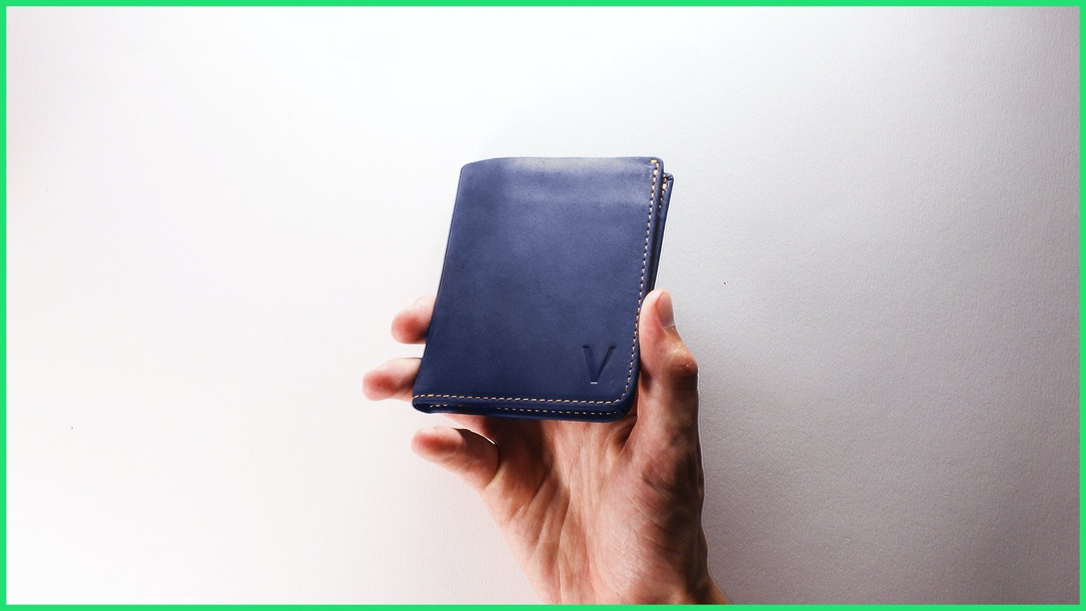 The perfect wallet to access your money with a quick swipe of your thumb.