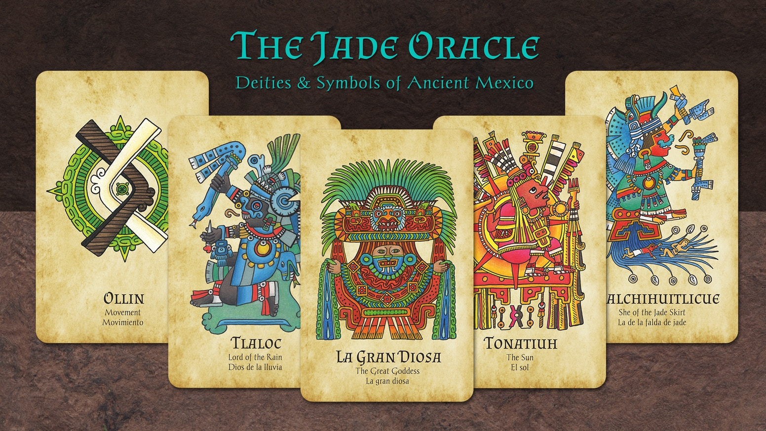 The Jade Oracle Deities Symbols Of Ancient Mexico By Ramona Teo