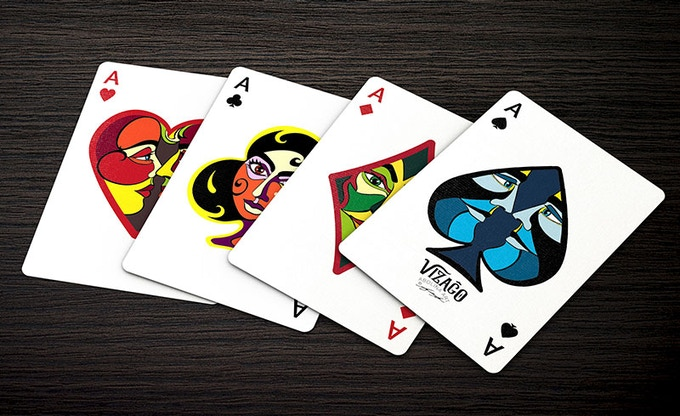VIZAĜO - the four Aces