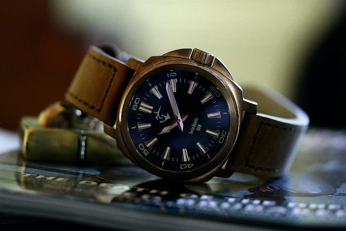 Bronze Cusn8 Watches Molon Labe By John Jy Lee Kickstarter