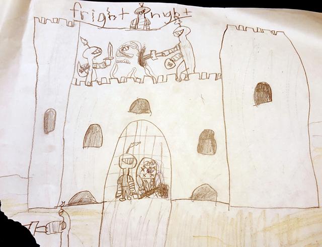 """Fright Night"" - Zeke James, 1997"