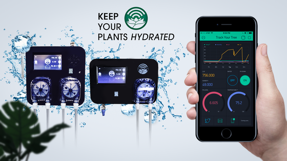 Autonomous Cultivation Controller w/ The Track Your Tree app