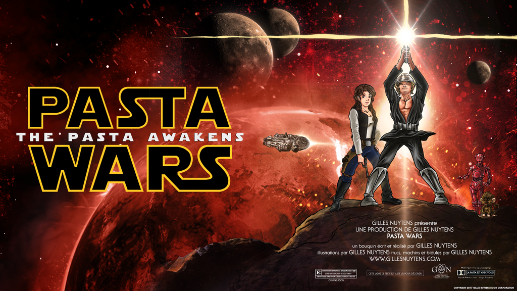 Pasta Wars: The Pasta Awakens project video thumbnail