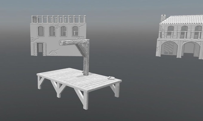 Many accessories with the townsets
