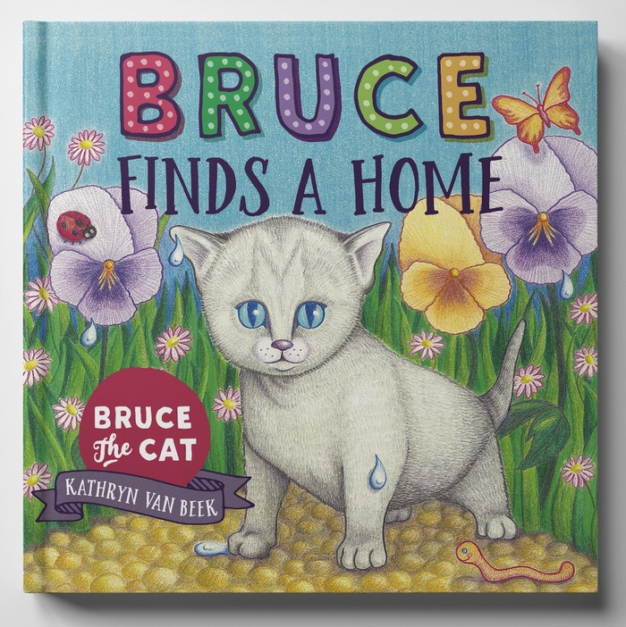 Thanks to our backers, copies of 'Bruce Finds A Home' are now available in all good New Zealand bookshops ... and online. View our online stockists here: https://www.brucethecat.co.nz/my-book.html