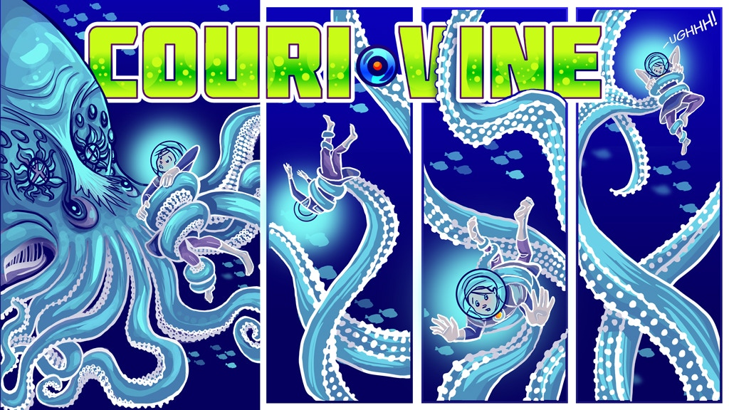 COURI VINE: Comic Books 3 and 4 project video thumbnail