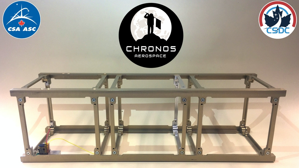 Project image for Chronos Aerospace CubeSat Structures