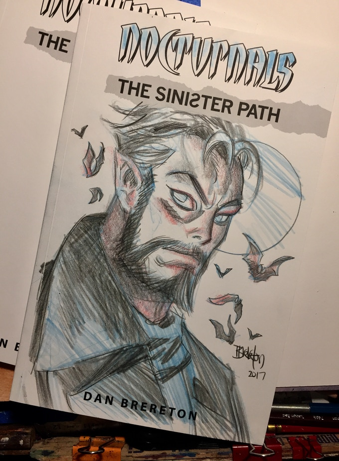 Sketch Cover Portrait Example.