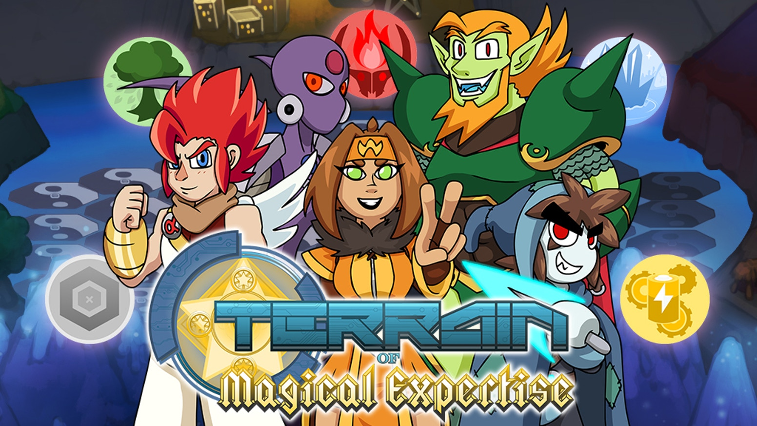 Terrain of Magical Expertise RPG - A Game about a Game! by Chris
