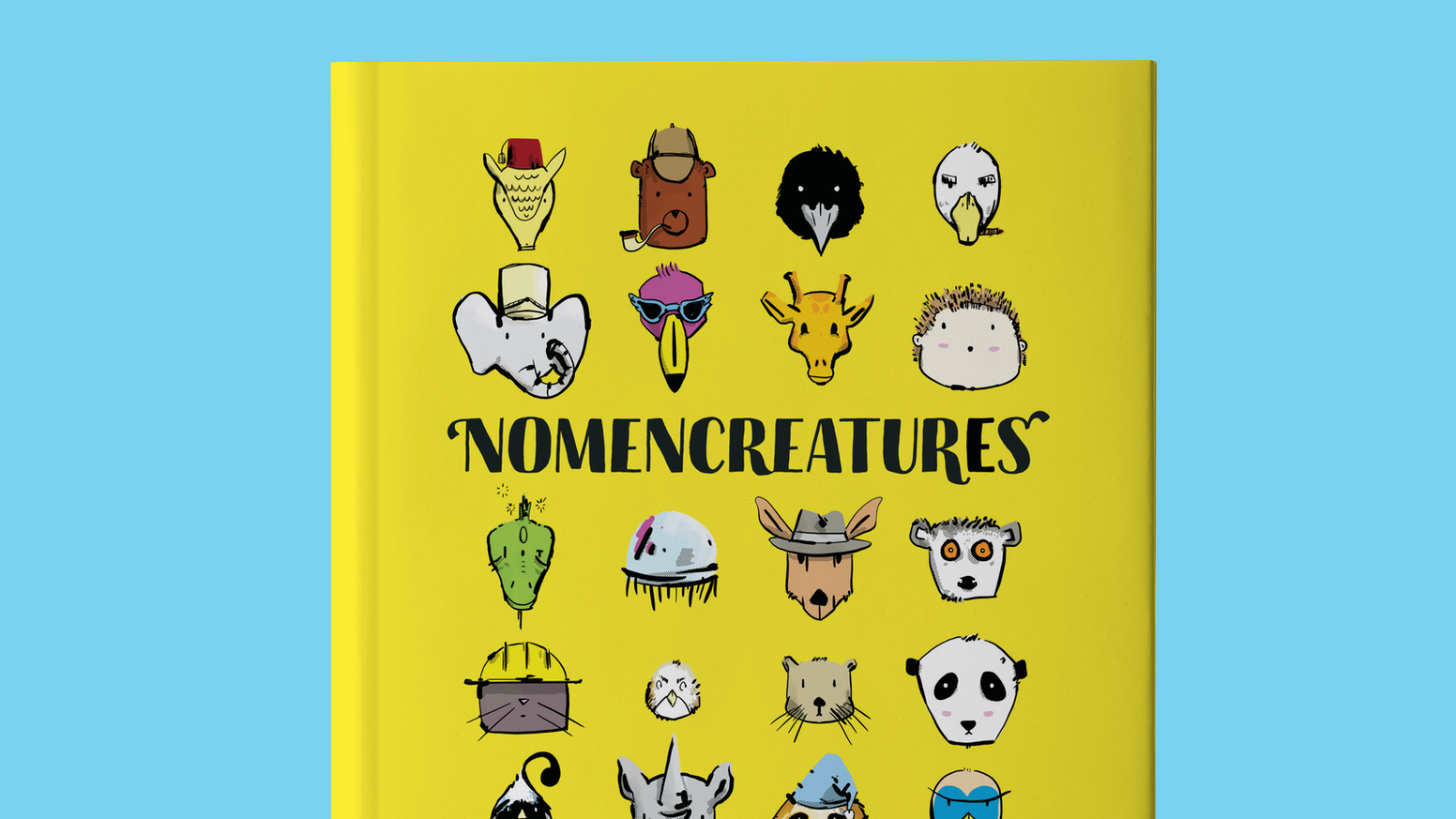 Nomencreatures is an alphabet book with bright animal illustrations  and fun facts that focus on the silly parts of science!