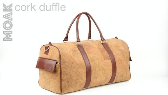 MOAK Cork Duffle - Redefining Travel Bags