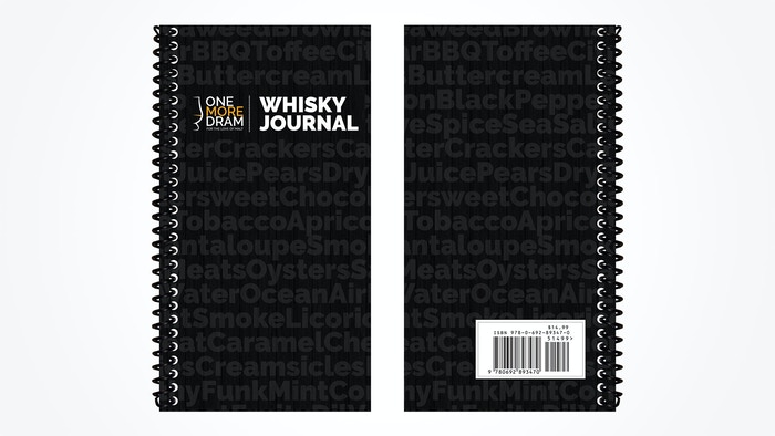 A whisky journal small enough to fit in a pocket or purse and bring to a whisky bar or tasting, designed with all whiskies in mind.