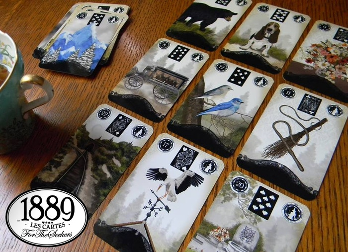 1889 A Lenormand Oracle By Fortheseekers By Jennifer Kast
