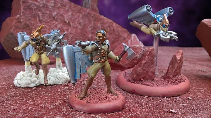 Hawkmen by Cold War Minis