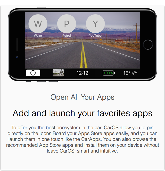 CarOS® — The Powerful Driving Dashboard by Julien B