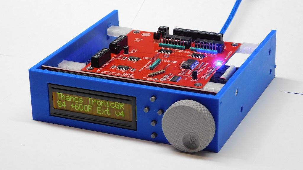 6DOF Electronic Interface for Motion Simulator Platform project video thumbnail