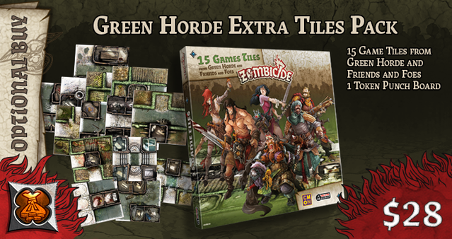 Zombicide Green Horde By Cmon 187 A New Wondrous Stretch