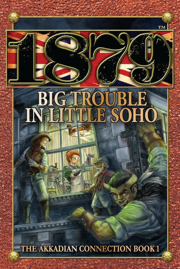 Big Trouble cover, by Don Higgins, art director for 1879