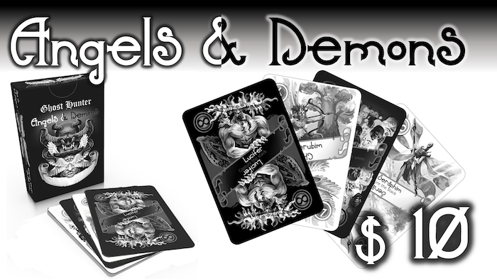 Hunt the 'risen' and the 'fallen' in this expandable card game, which backers are helping to design.